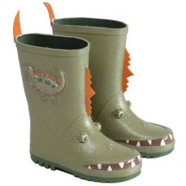 Bottes de pluie dinosaure