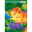 8 sacs de fêtes Prehistoric Dinosaur