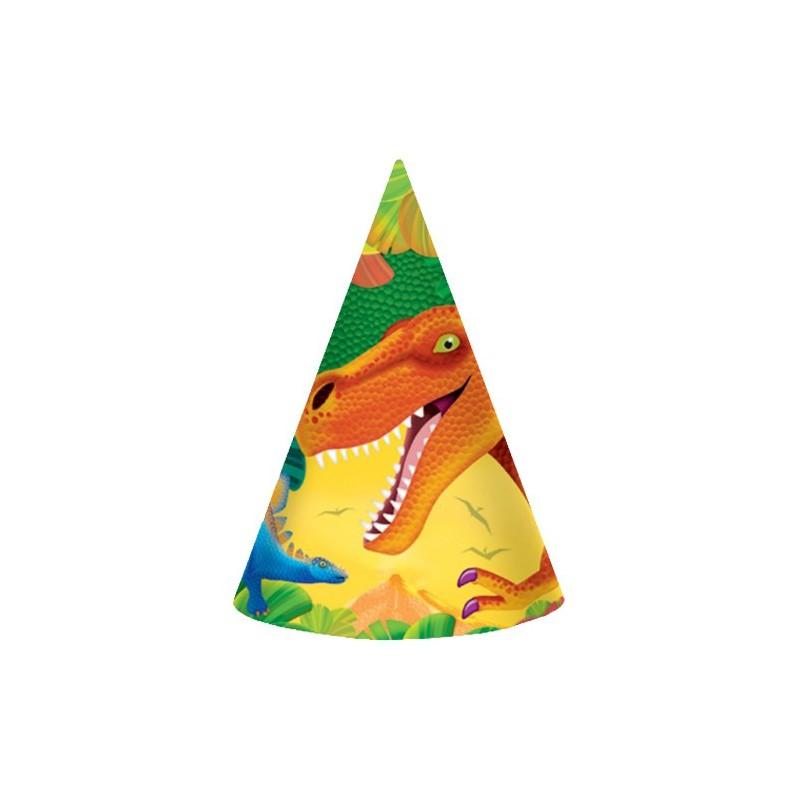 8 Fête Chapeaux DINOSAUR ADVENTURE