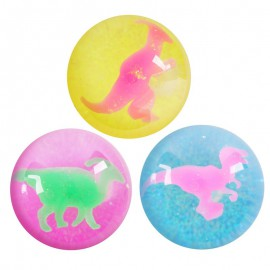 Balle rebondissante dinosaure