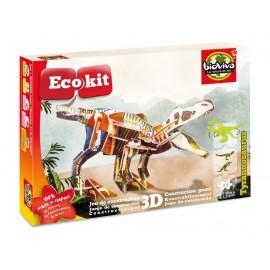ECOKIT Construction dinosaure 3D Tyrannosaurus
