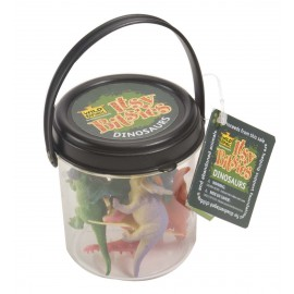 Assortiment de mini dinosaures Wild Republic Bitsy Bucket Dinosaur