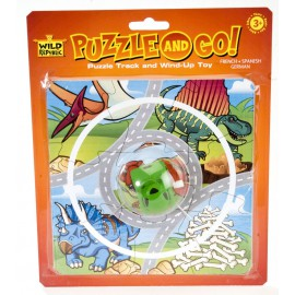 Puzzle and go dinosaure - Wild Republic