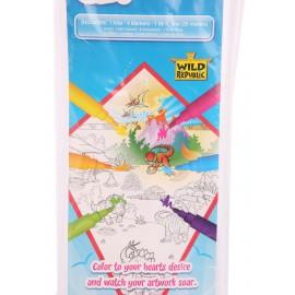 Kite Coloring Set - Ensemble de couleurs pour cerf volant dinosaure