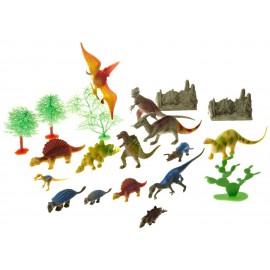 Dinosaur Adventure Set - Collection de 23 dinosaures