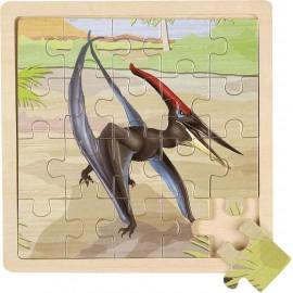Puzzle en bois dinosaure Pteranodon Wild Republic