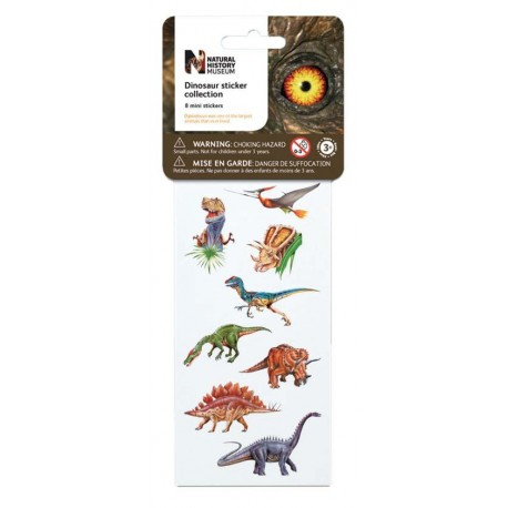 Minis stickers dinosaures Wild Republic