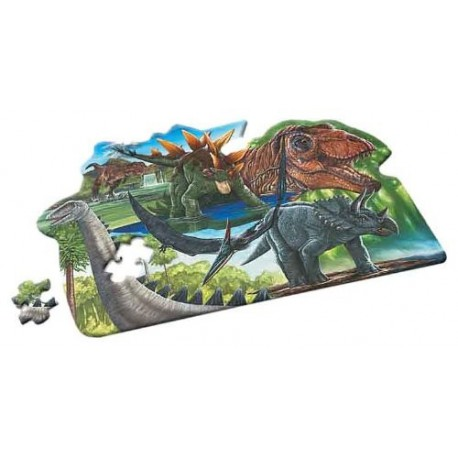 Puzzle dinosaure 100 pièces Wild Republic