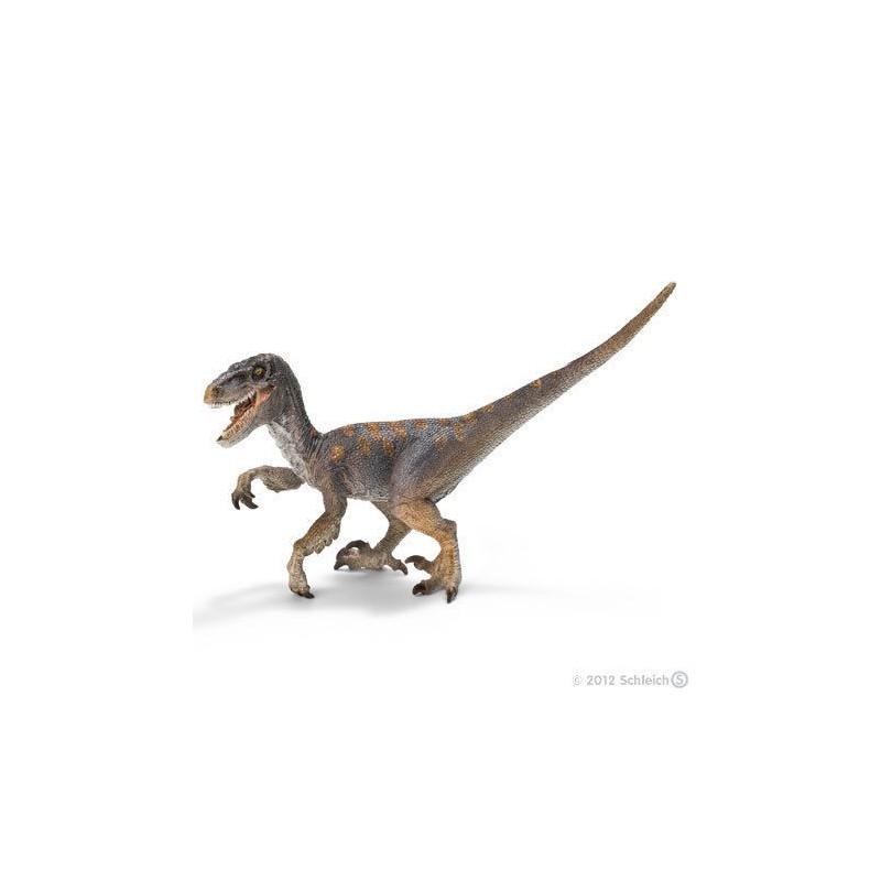 Figurine dinosaure velociraptor avec m choire articul e dino shop - Liste de dinosaures ...