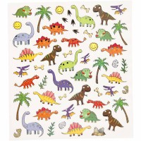 Mini stickers dinosaures