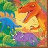 Serviettes en papier Anniversaire dinosaure Prehistoric Party