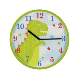 Horloge murale dinosaure