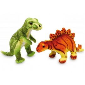 Peluches dinosaures Ronny et Conny