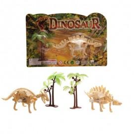 Squelette dinosaure mécanique