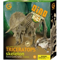 Kit de fouille dinosaure Tricératops à déterrer