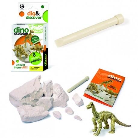 Kit de fouille dinosaure