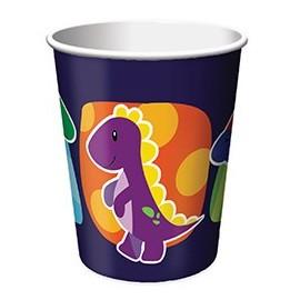 Gobelets Dinosaure pour anniversaire