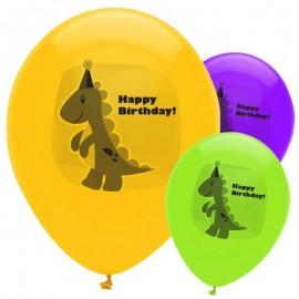 Ballons gonflables dinosaure spécial anniversaire