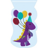 Sacs à bonbons dinosaure pour anniversaire