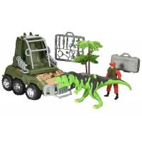 Voiture de secours 4x4 dinosaure avec accessoires