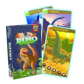 Jeu de cartes dinosaures Dino Challenge Noir