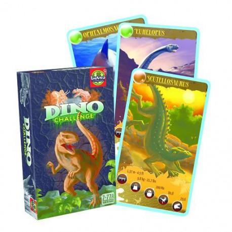 Jeu de cartes Dino Challenge Noir