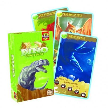 Jeu de cartes Dino Challenge Vert